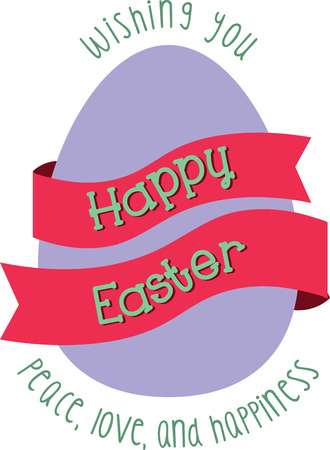 easter message: Send a perfect Happy Easter message to a loved one.  They will love this design Illustration