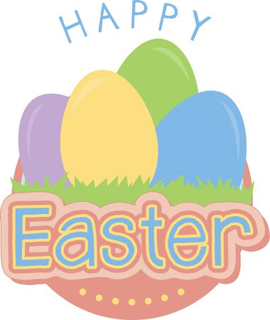 easter message: Send a perfect Happy Easter message to a loved one.  They will love this design.