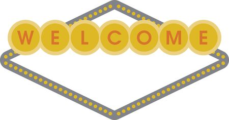 Turn this simple design into a style statement.  This welcome banner will add sparkle to party decorations!