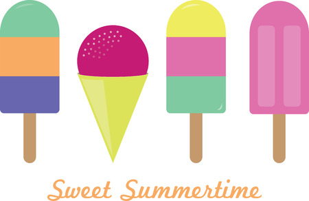 lollies: Stay cool this summer with this ice cold treat on kitchen linen, tablecloths and more!