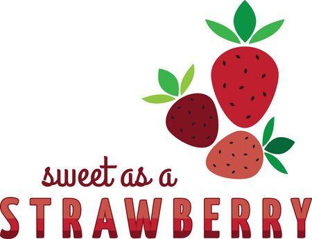 Maak een prachtige look voor de zomer met lekkere aardbeien op placemats en beddengoed! Stockfoto - 42988320