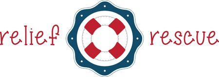 Un design parfait pour votre marin, plaisancier ou un amant de toutes choses broder nautique sur les vêtements, serviettes, sacs d 'équipement, t-shirts, vestes ou des tentures murales. Banque d'images - 42988324
