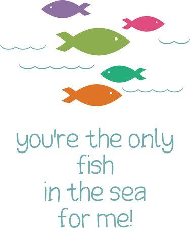 encounter: Salta in sella per un incontro ravvicinato con le creature pi� affascinanti del mare con questo motivo i vostri progetti a casa. Vettoriali