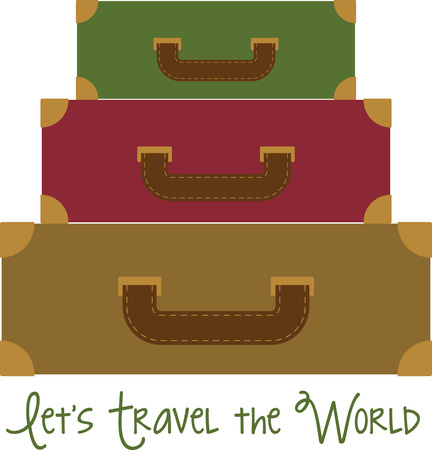 This design is great on luggage tags, t-shirts, sweatshirts and more for your travel bugs!