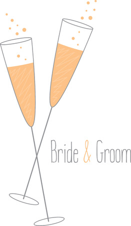 newlyweds: Toast to love! Time to celebrate with this perfect design on cocktail napkins and personalized gifts for the newlyweds!