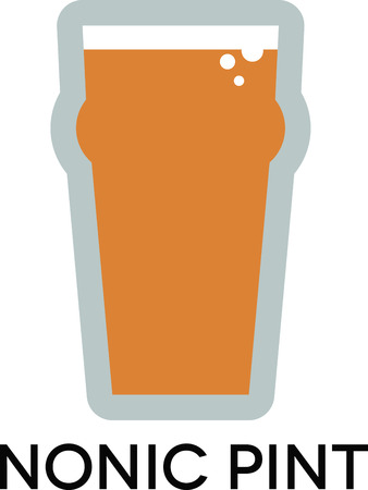 try: Try your favorite beer in this 20 ounce nonic pint glass.