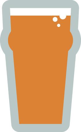 この 20 オンス nonic パイント グラスでお気に入りのビールをしてみてください。