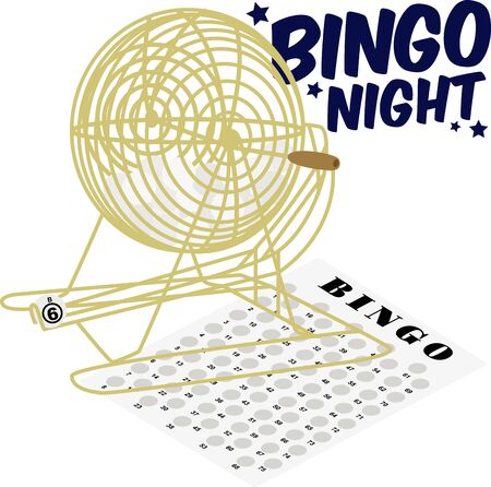 wheel barrel: Game players will like to show off their love for bingo.