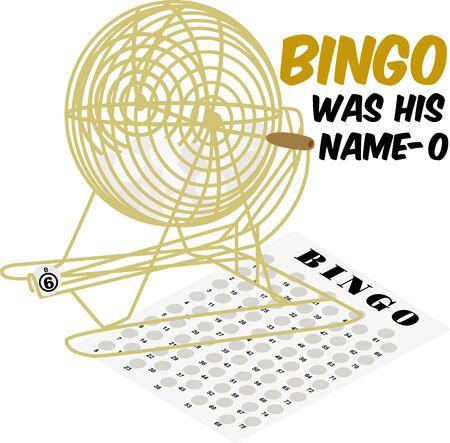 Game spelers zullen graag hun liefde te pronken voor de bingo.