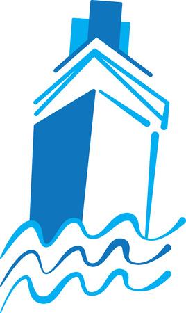 Un design parfait pour votre marin, plaisancier ou un amant de toutes choses broder nautique sur les vêtements, serviettes, sacs d 'équipement, t-shirts, vestes ou des tentures murales. Banque d'images - 43025065