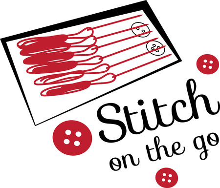 This design will make a great keepsake for your sewing enthusiasts on framed embroidery, t-shirts, sweatshirts, towels and more.