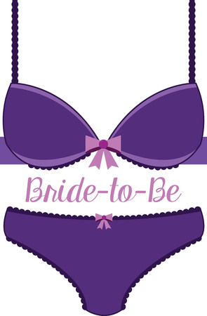 This design will make a great keepsake for the bride-to-be on framed embroidery, t-shirts, sweatshirts, towels and more.
