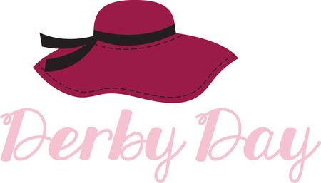 dressy: Accessorize al deseo de su coraz�n. Obtener este sombrero elegante en sus proyectos de interior y dar personalidad a tu estilo! Vectores