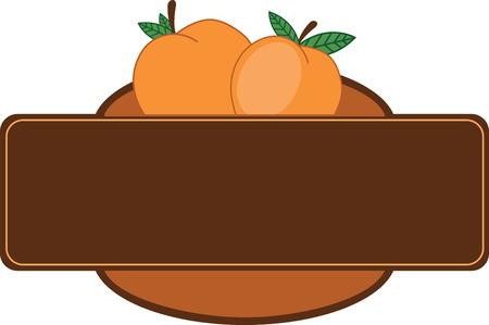 Maak een prachtige look voor de zomer met lekkere perziken op placemats en beddengoed!