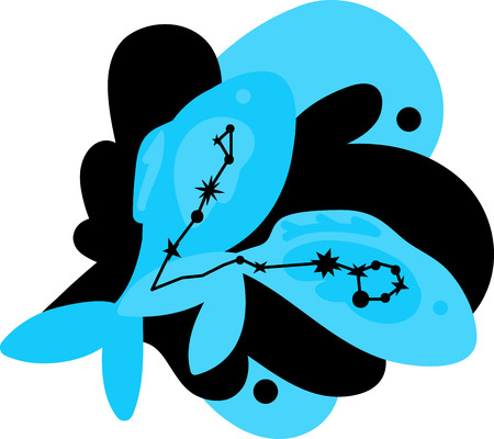 Pisces is named after Latin plural of fish. This is the perfect to show everyone your astrological sign.