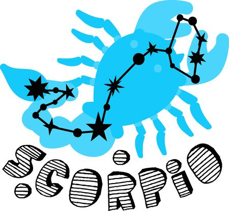 brightest: Scorpio stars have a distinctive size and are one of the brightest. This is the perfect to show everyone your astrological sign.