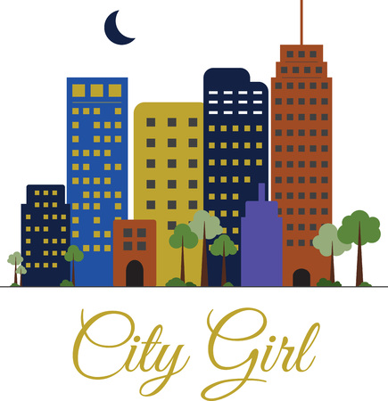 city live: If you love to live in the city, you will like this skyline.