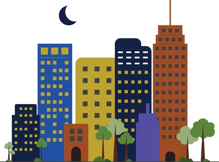 moon  metropolis: If you love to live in the city, you will like this skyline.