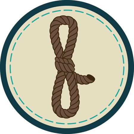 again: We learn the rope of life by untying its knots. Illustration