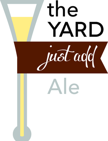 Time to celebrate with this perfect design to please the beer connoisseur! It will look cool on cocktail napkins, kitchen dcor and more!
