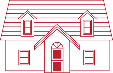 residential homes: Home is where the heart is!  This heartwarming design will make a great keepsake for loved ones on framed embroidery, t-shirts, sweatshirts, towels and more