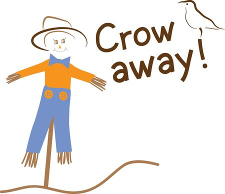 Scarecrow Illusztráció