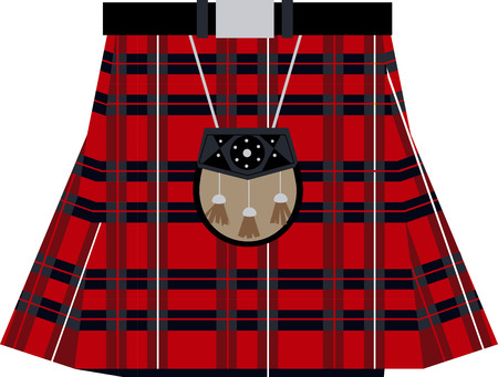 checkered skirt: Connect to your Scottish heritage with this design on framed embroidery, clothing and more!