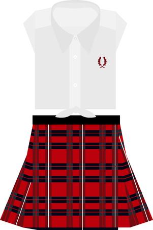 この設計で組み立てられた刺繍、衣料品、スコットランドの文化遺産に接続!