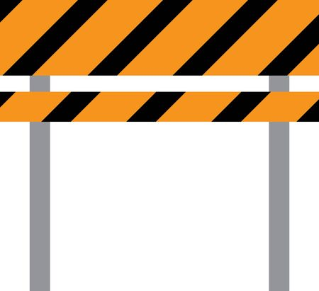 traffic barricade: Teach the importance of road safety to children at schools with this design on banners and framed embroidery!