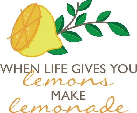 Deze pittige citrus kan opfrissen een winter keuken! Dit ontwerp zal perfect op tafellinnen, karpetten, keuken matten, muur decor, muur plaques en nog veel meer. Stock Illustratie