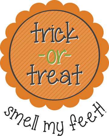 This design is sure to please Halloween tricksters of all ages.  Scare up some fun with this design on t-shirts, hoodies, hats, warm-ups and more!