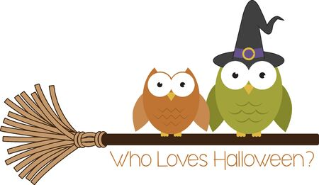 hoot: This design is sure to please Halloween tricksters of all ages.  Scare up some fun with this design on t-shirts, hoodies, hats, warm-ups and more!