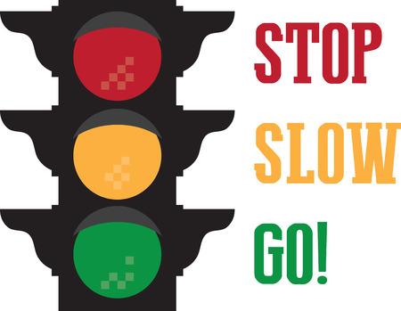 배너와 액자 자수에이 디자인으로 학교에서 아이들에게 도로 안전의 중요성을 가르쳐주세요! 스톡 콘텐츠 - 45954582