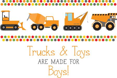 차량 애호가들을위한 트럭의 무기고에 T- 셔츠, 어린이 방 장식 등의 디자인을 추가하십시오. 스톡 콘텐츠 - 45954942