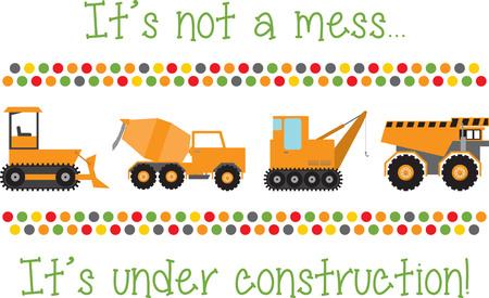 차량 애호가들을위한 트럭의 무기고에 T- 셔츠, 어린이 방 장식 등의 디자인을 추가하십시오.