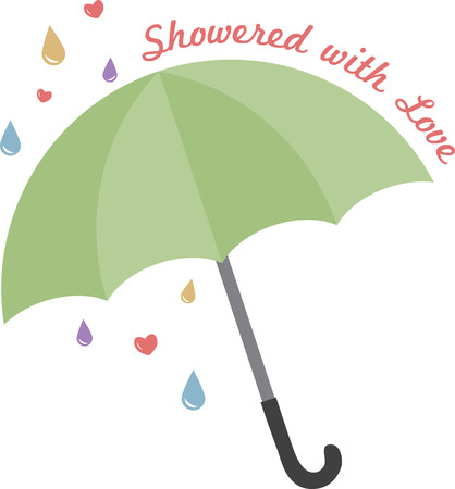 brolly: Spark your imagination!  This whimsical design will be perfect on quilts, throw pillows, napkins and more!