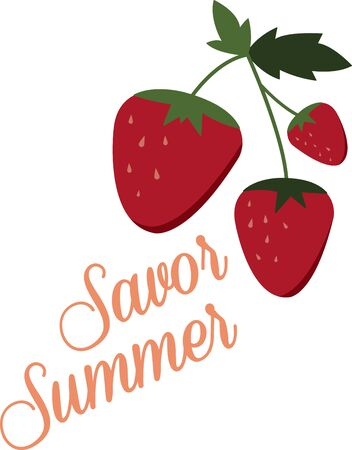 Little screams summer quite like the sweet scent and ripe taste of fresh, plump strawberries.  Enjoy the harvest with this design on kitchen linen, cozies, throw pillows and more!