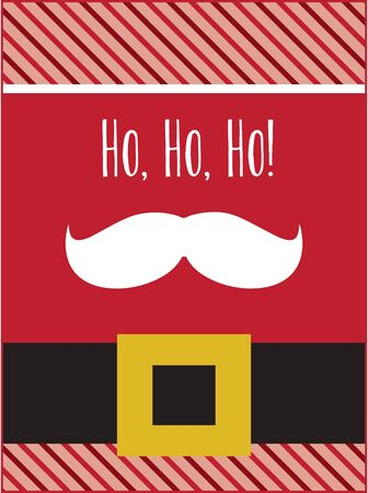 kris: Dont mess with the mustache!  This stylish accent is great to spread a little merry on towels, linens, and pockets on your holiday projects!