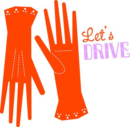 Accessorize to your hearts desire.  Get these gloves on your indoor projects and add personality to your style!