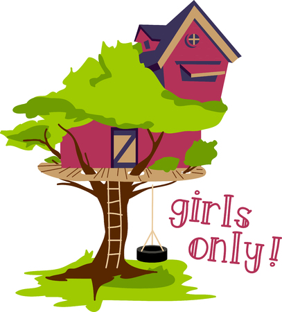 This insanely simple tree house will provide hours of fun for the young and young at heart! A great addition to your child's bedroom decor and other projects!