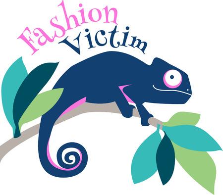 던지기 베개, 냅킨, 스웨트 셔츠, 가방 등에이 다채로운 카멜레온 디자인을 사용하여 집 주변의 쾌적한 열대 향을 풍깁니다!