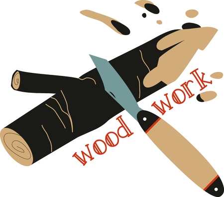 wood craft: A great design on carryalls, sweatshirts, jacket backs, quilts, wall hangings and anywhere else you can think of to recognize your favorite handyman!