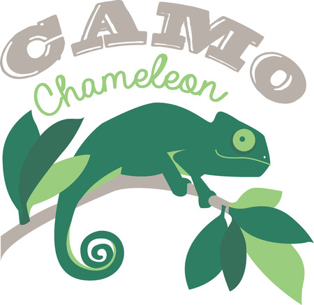 cheery: Spread cheery tropical flavor around the home with this colorful chameleon design on throw pillows, napkins, sweatshirts, bags and more!
