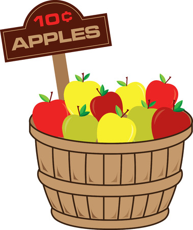 bushel: Apples are a perennial fall favorite.  Get the flavors of the season into your home projects with this design!