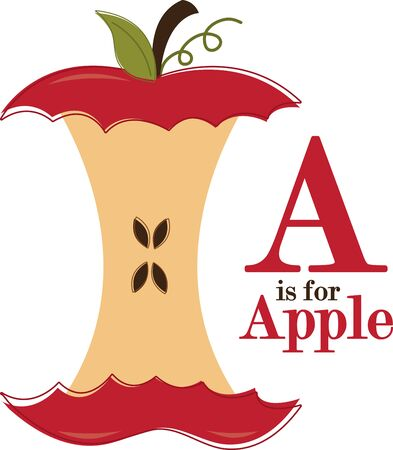 Apples are a perennial fall favorite.  Get the flavors of the season into your home projects with this design.