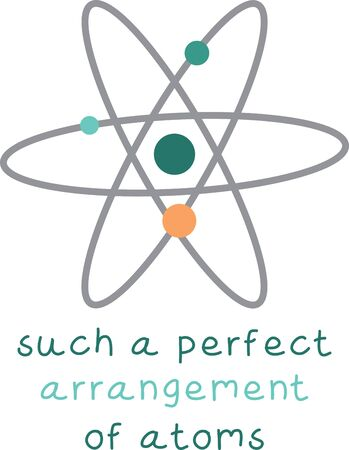 neutron: The feeling of awed wonder that science can give us is unparalleled.  This design is perfect for your science geeks on t-shirts, lab coats, shirts, jackets and more. Illustration