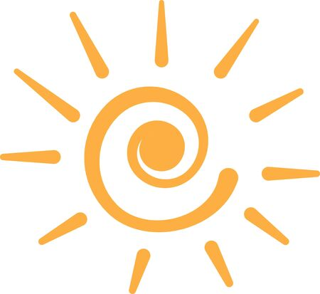 sol: Bring some glowing sunshine into any projects with this very colorful and bright sun!
