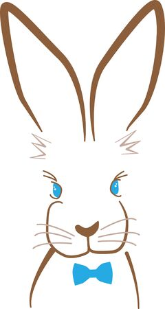 Cute and fluffy bunny is ready for all the festivities! This design will be fabulous on all your Easter projects!