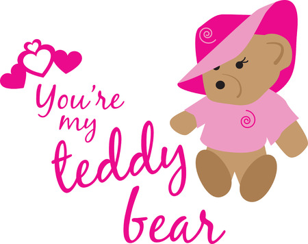 Put the cute in kids embroidery with the popular teddy bear motif on bodysuits, layettes, t-shirts, hats, bibs  more!