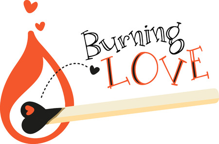 igniting: Love is the flame that sets your hearts on fire!  Celebrate the month of love with this design on your Valentines projects.